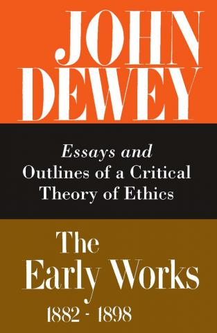 Early Works of John Dewey, Volume 3, 1882 - 1898