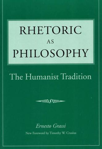 Rhetoric as Philosophy