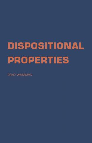 Dispositional Properties
